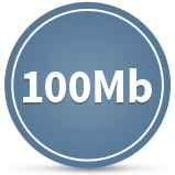 100 MB to GB